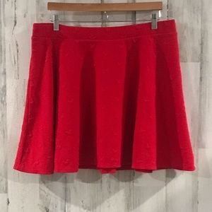 LC Lauren Conrad Mickey Mouse Skater Skirt Size XL